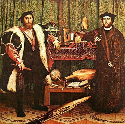 Ambassadørene av Hans Holbein (1533)